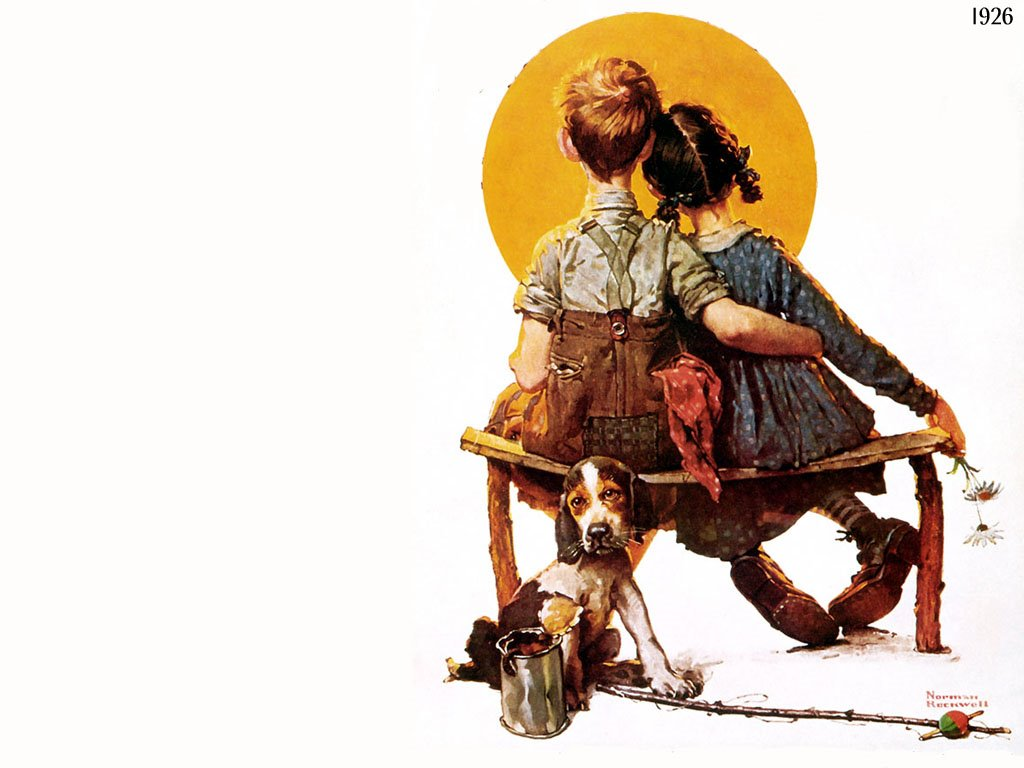 Artistic Wallpaper: Norman Rockwell