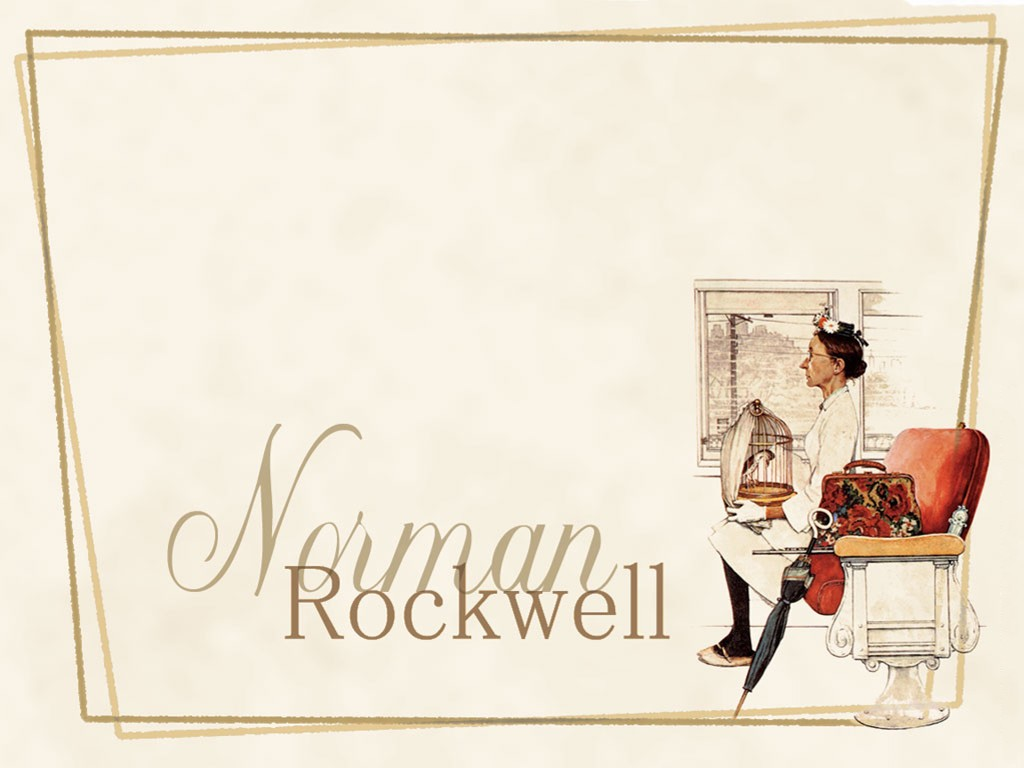 Papel de Parede Gratuito de Artes : Norman Rockwell