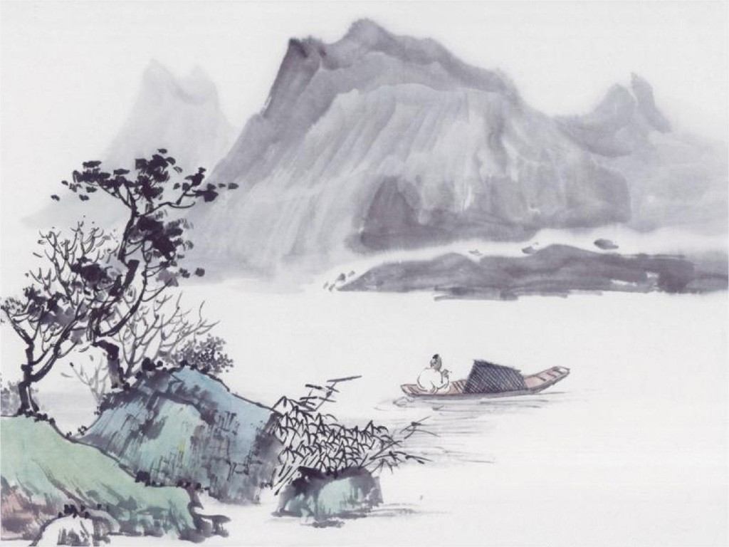 Artistic Wallpaper: Oriental Painting