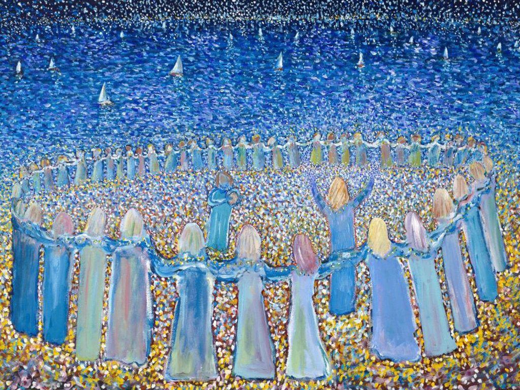 Artistic Wallpaper: Peter Sickles - Sufi Dancing