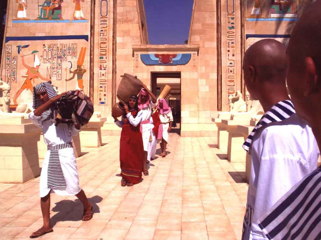 Artistic Wallpaper: Pharaonic Village