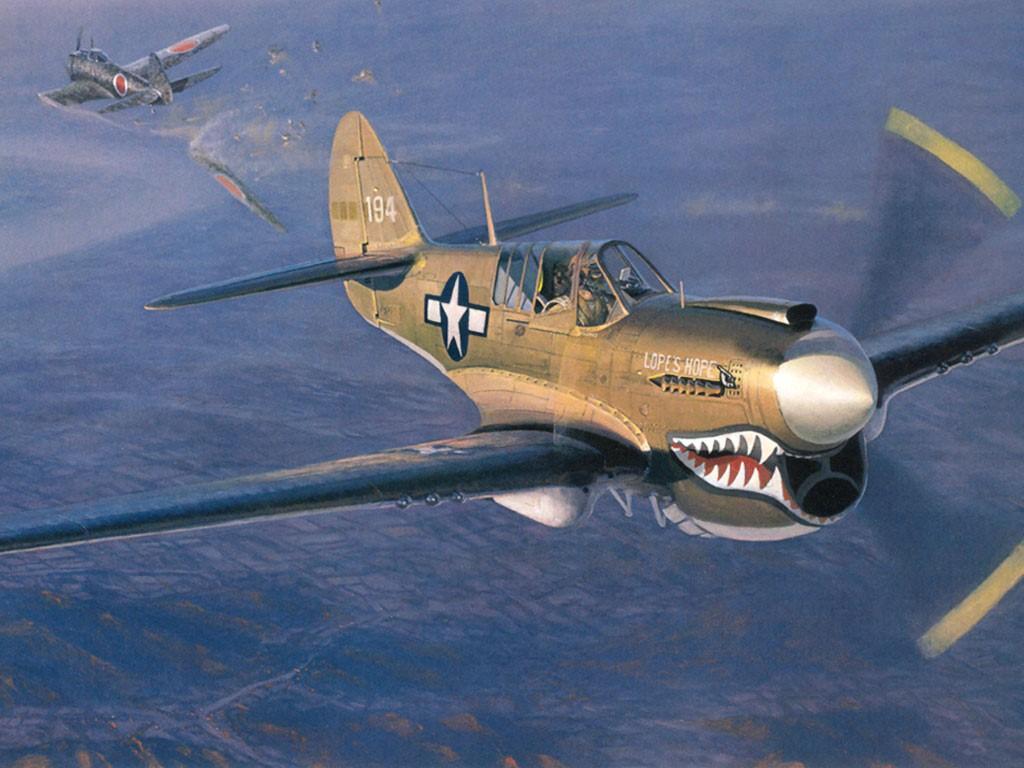 Artistic Wallpaper: Phillips William - Air Battle