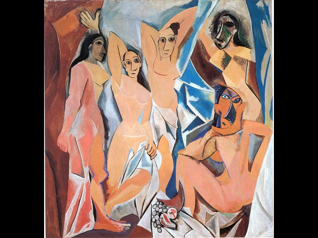 Artistic Wallpaper: Picasso - Demoiselles