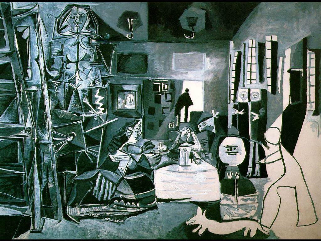 Artistic Wallpaper: Picasso - Las Meninas