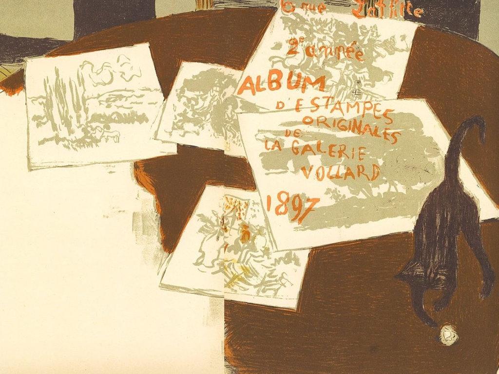 Artistic Wallpaper: Pierre Bonnard - Couverture
