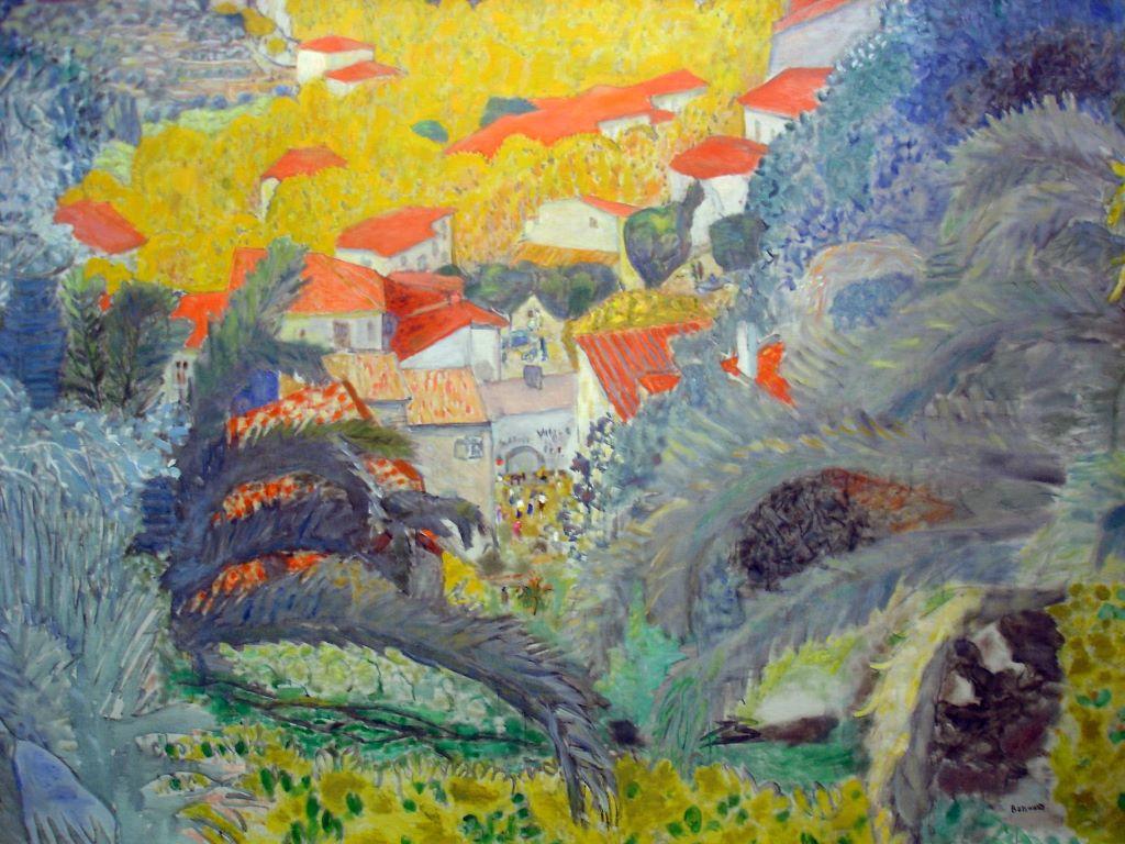 Artistic Wallpaper: Pierre Bonnard - Vue du Cannet