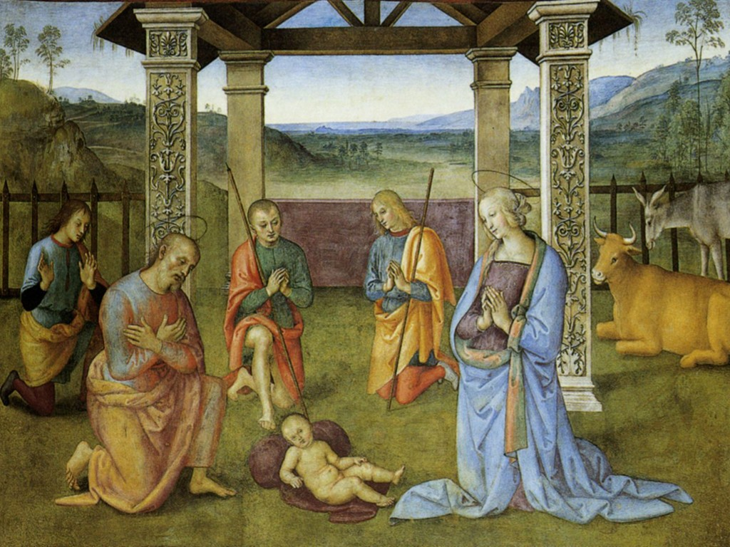 Artistic Wallpaper: Pietro Perugino - Nativity