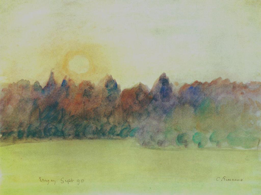 Artistic Wallpaper: Pissarro - Éragny
