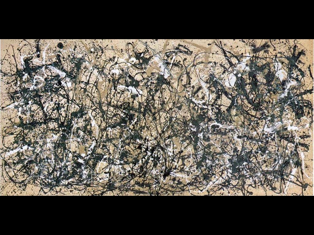Artistic Wallpaper: Pollock - Autumn Rhythm