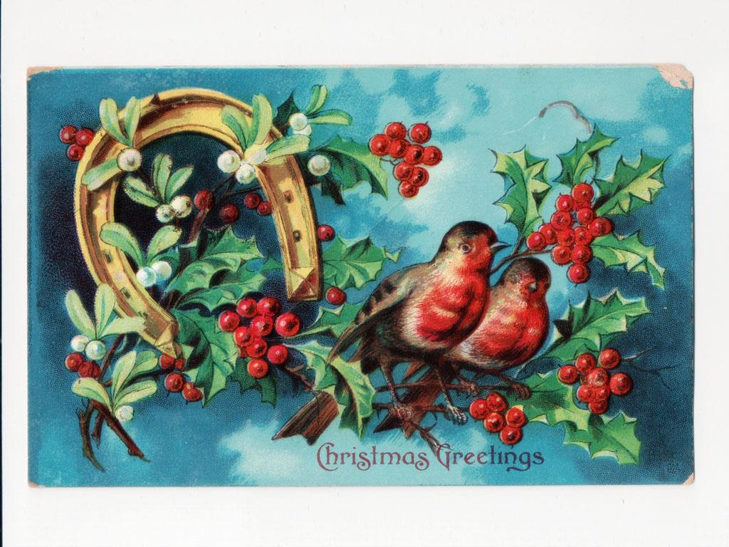 Artistic Wallpaper: Postcard - Christmas Greetings