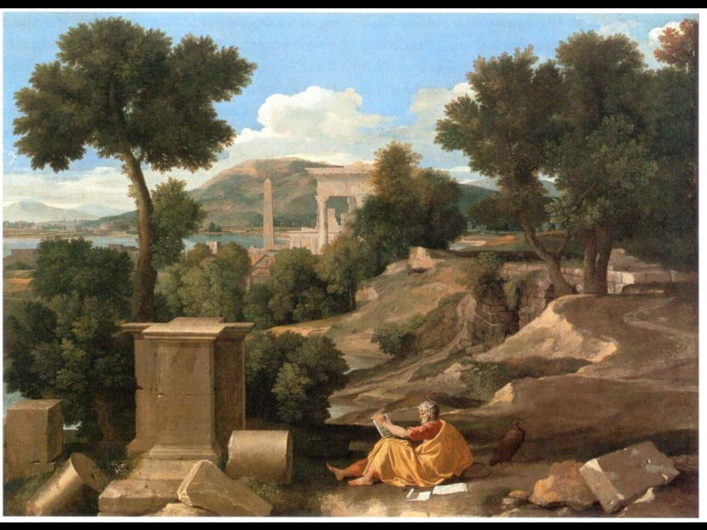 Artistic Wallpaper: Poussin
