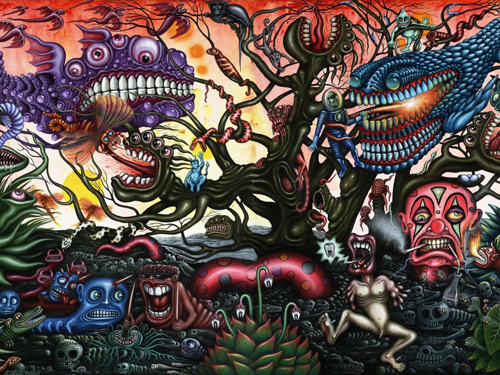 Artistic Wallpaper: R.S. Connett - Dentis Maximus