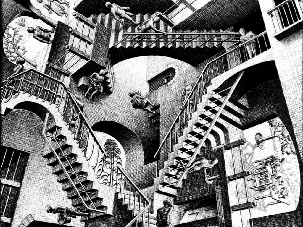 Artistic Wallpaper: Escher