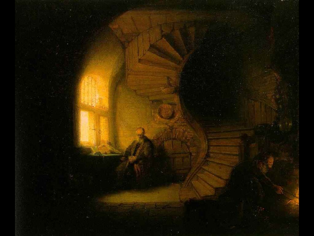Papel de Parede Gratuito de Artes : Rembrandt