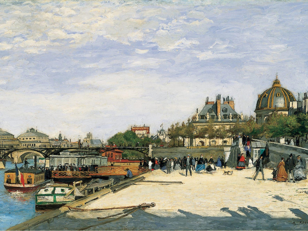 Artistic Wallpaper: Renoir - Le Pont Des Arts