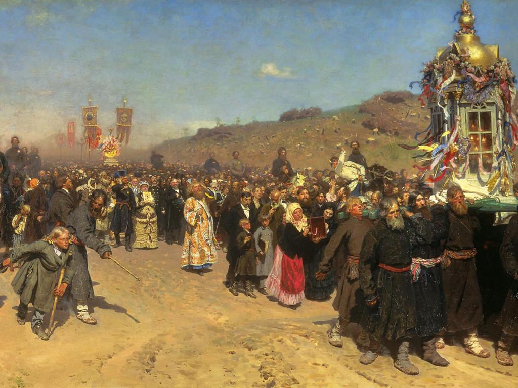 Artistic Wallpaper: Repin - Religious Procession