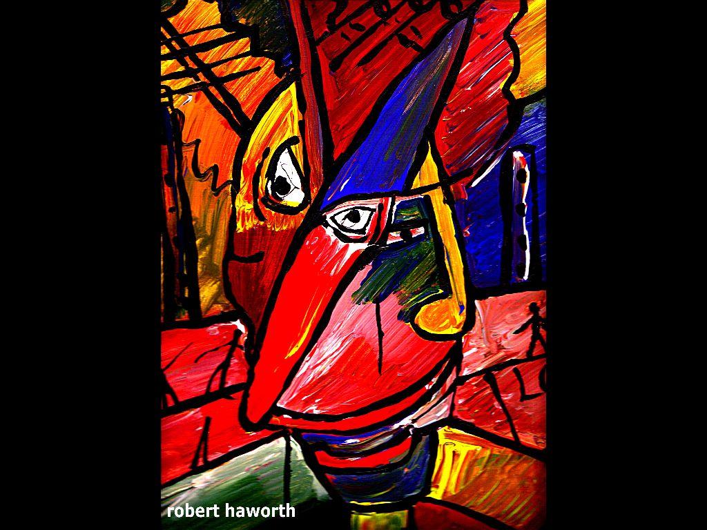 Artistic Wallpaper: Robert Haworth