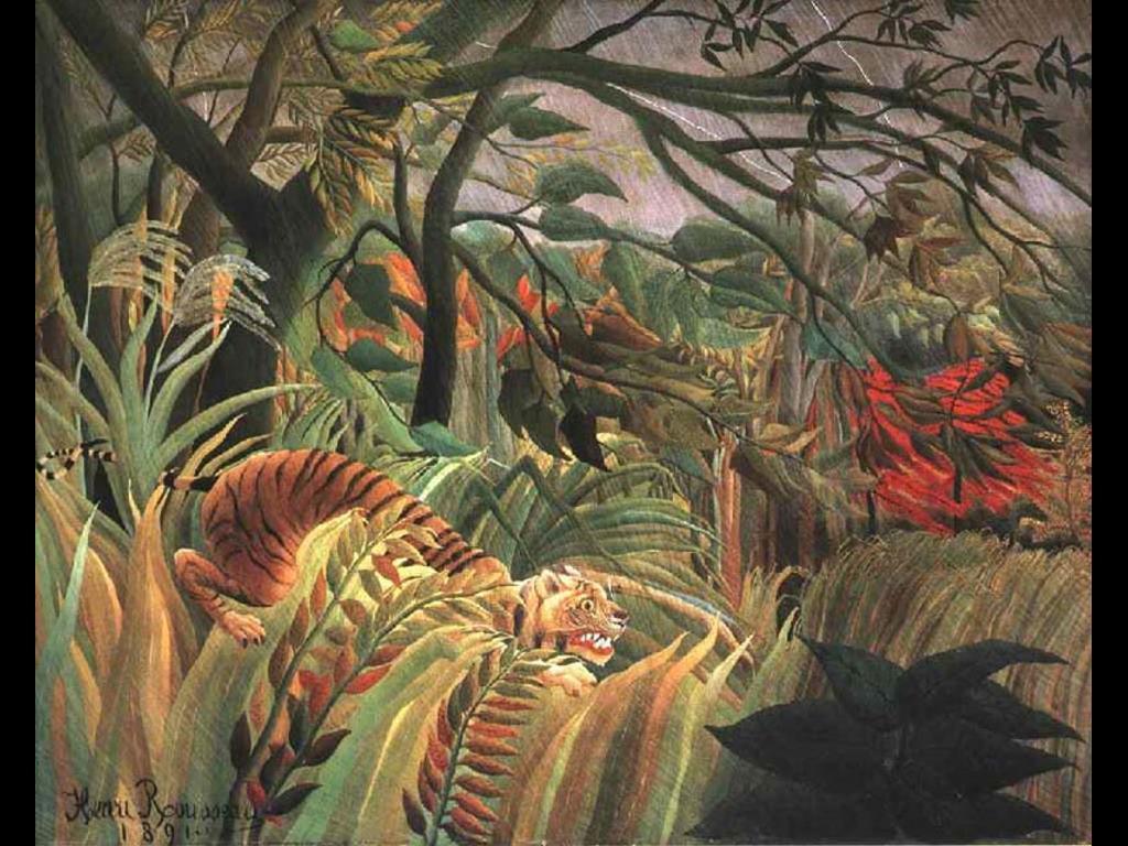 Artistic Wallpaper: Rousseau