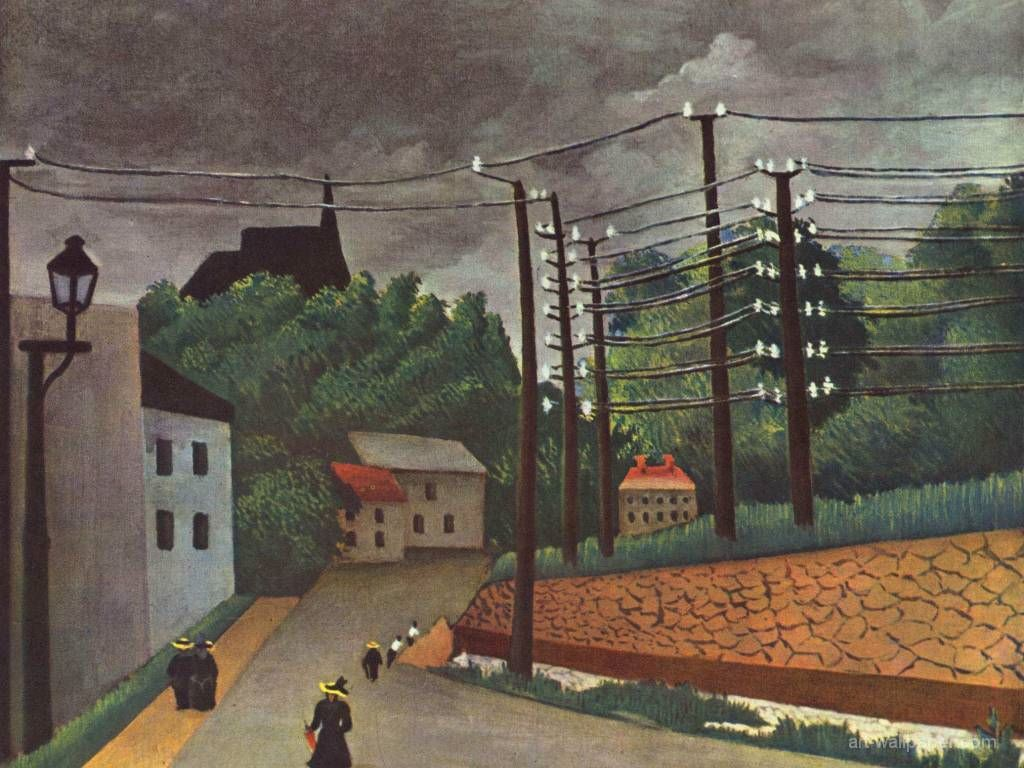 Artistic Wallpaper: Rousseau - Malakoff