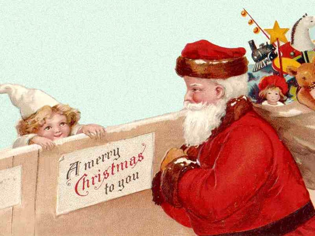 Artistic Wallpaper: Santa Claus