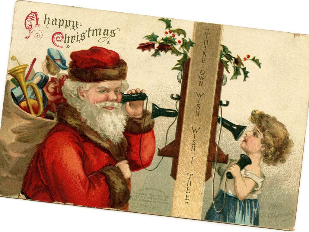Artistic Wallpaper: Santa Claus - Phone