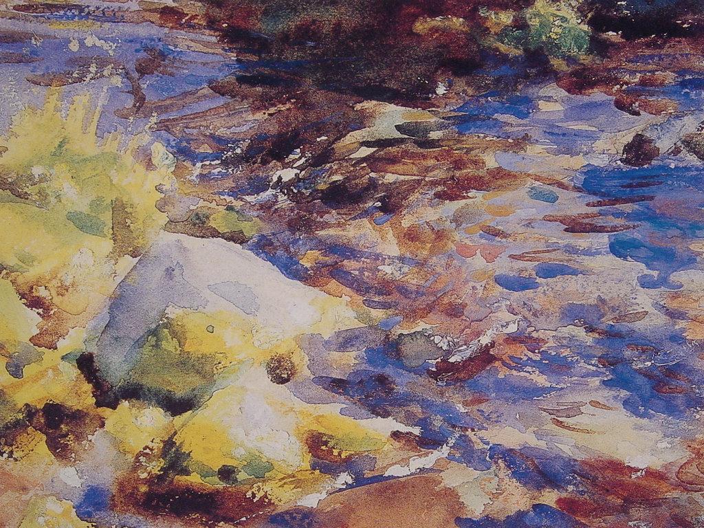 Artistic Wallpaper: Sargent - Reflections