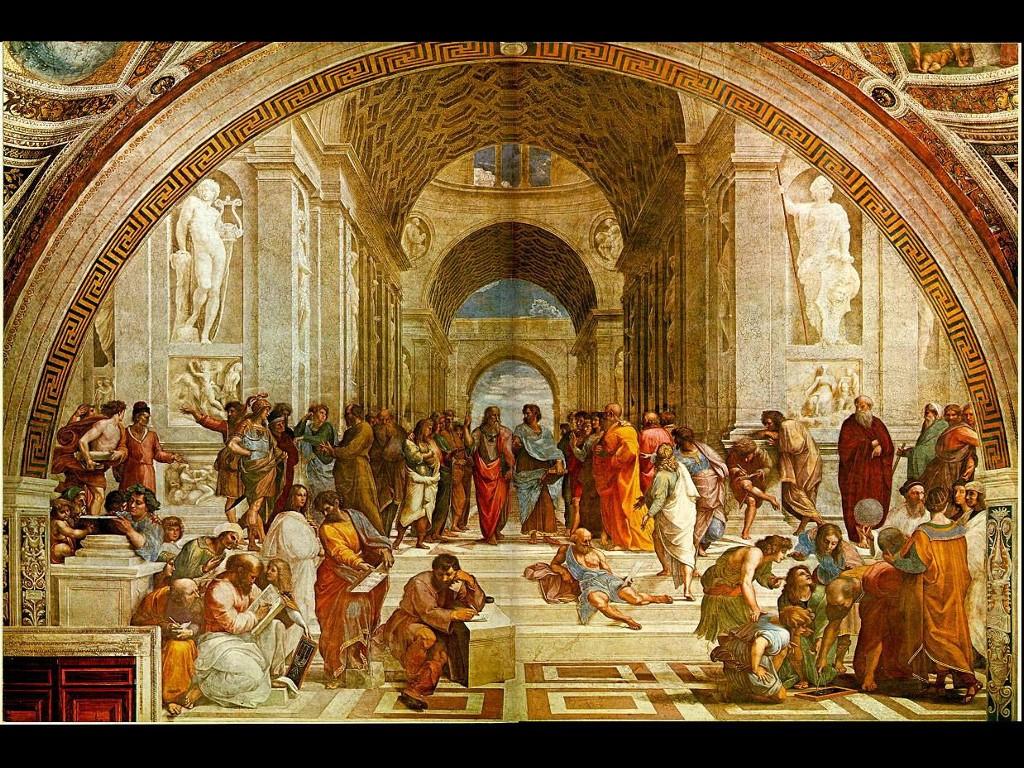 Artistic Wallpaper: School of Athens