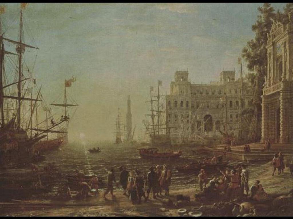 Artistic Wallpaper: Sea Port