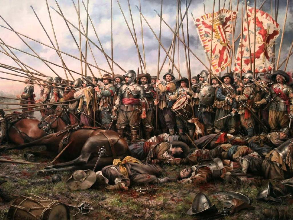 Artistic Wallpaper: Sebastian Vrancx - Battle
