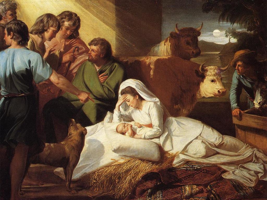 Artistic Wallpaper: Singleton - The Nativity