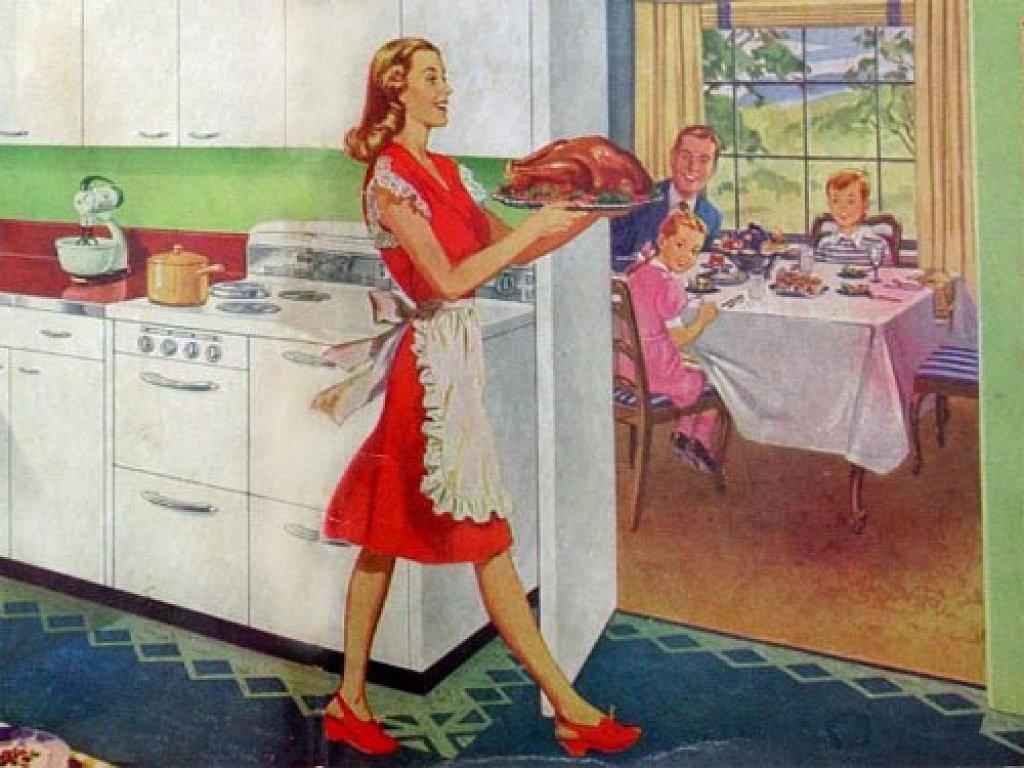 Artistic Wallpaper: Thanksgiving - Vintage