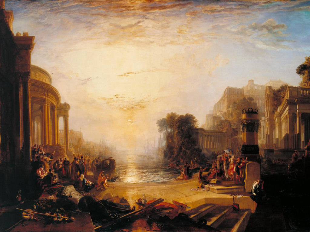 Artistic Wallpaper: Turner - The Decline of the Carthaginian Empire