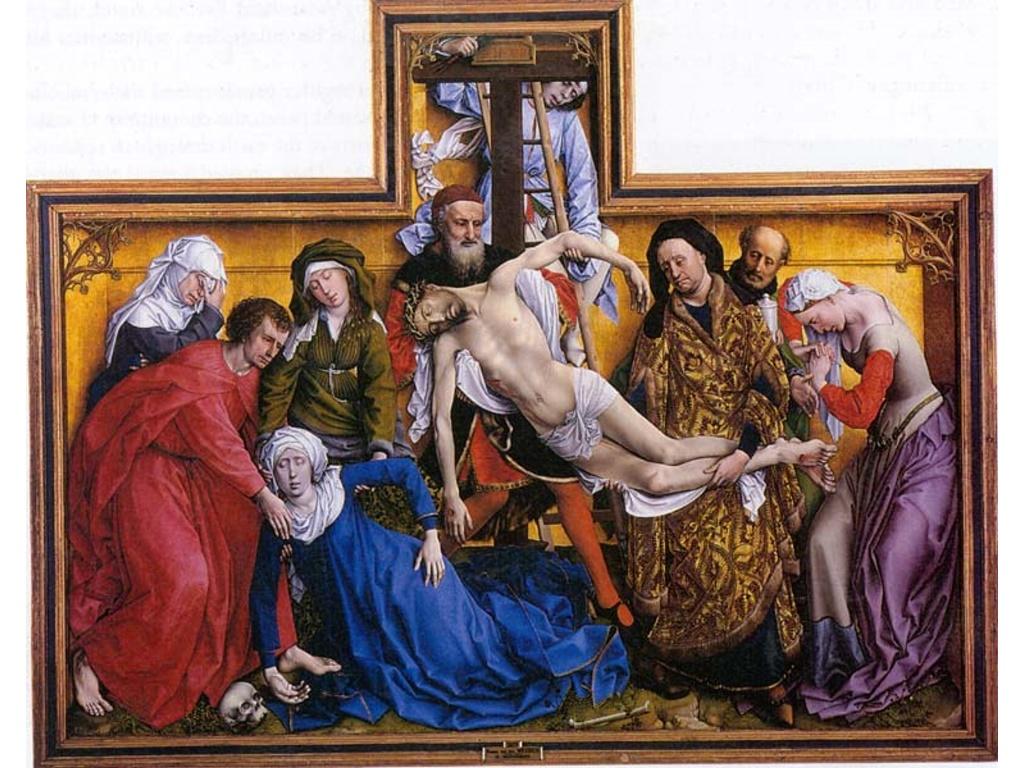 Artistic Wallpaper: Van der Weyden - Deposition