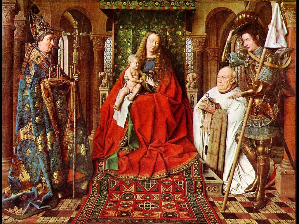 Artistic Wallpaper: Van Eyck - Madonna