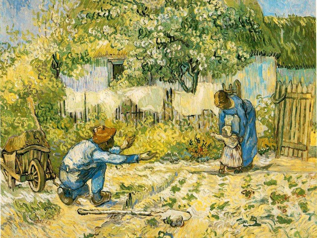 Artistic Wallpaper: Van Gogh - First Steps