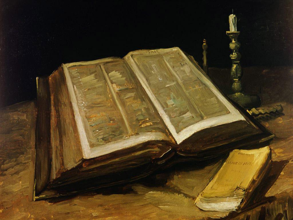 Artistic Wallpaper: Van Gogh - The Bible