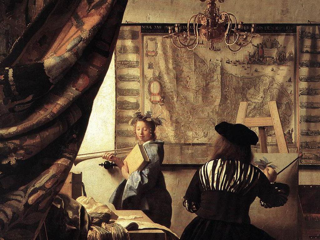 Artistic Wallpaper: Vermeer