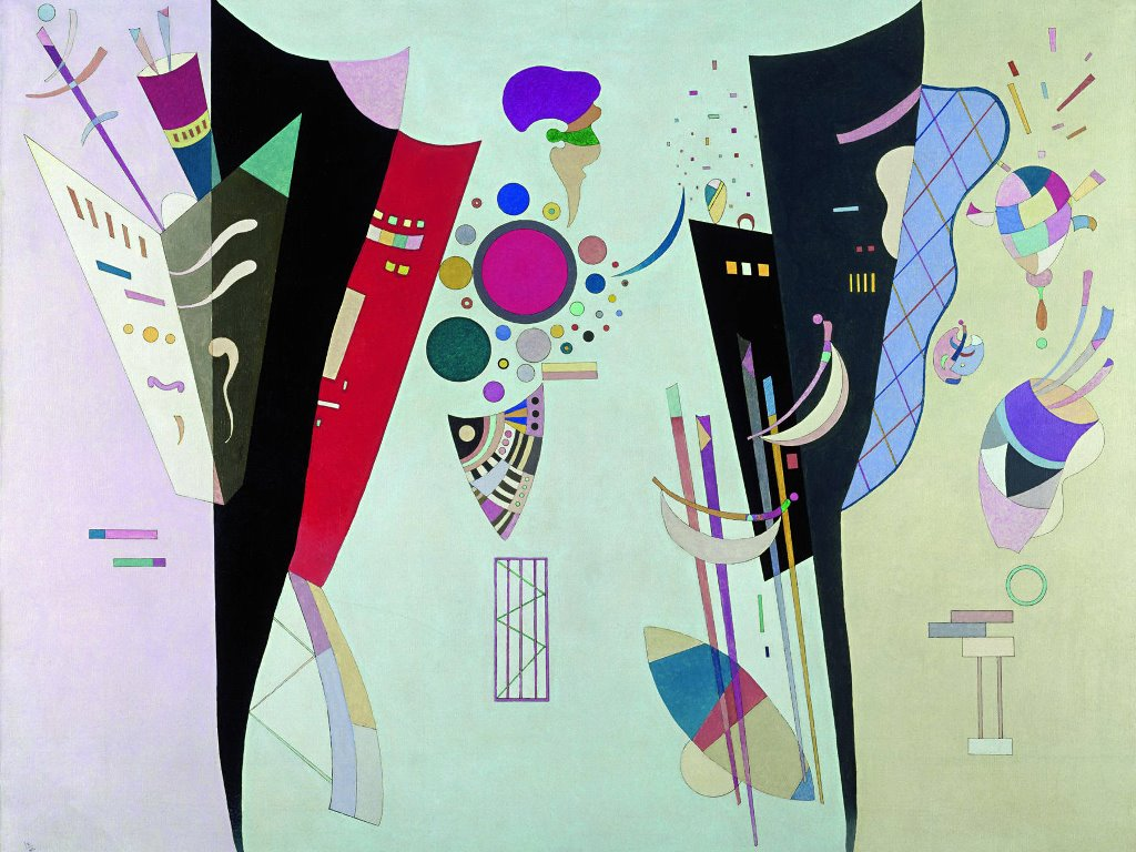 Artistic Wallpaper: Wassily Kandinsky - Reciprocal Accords