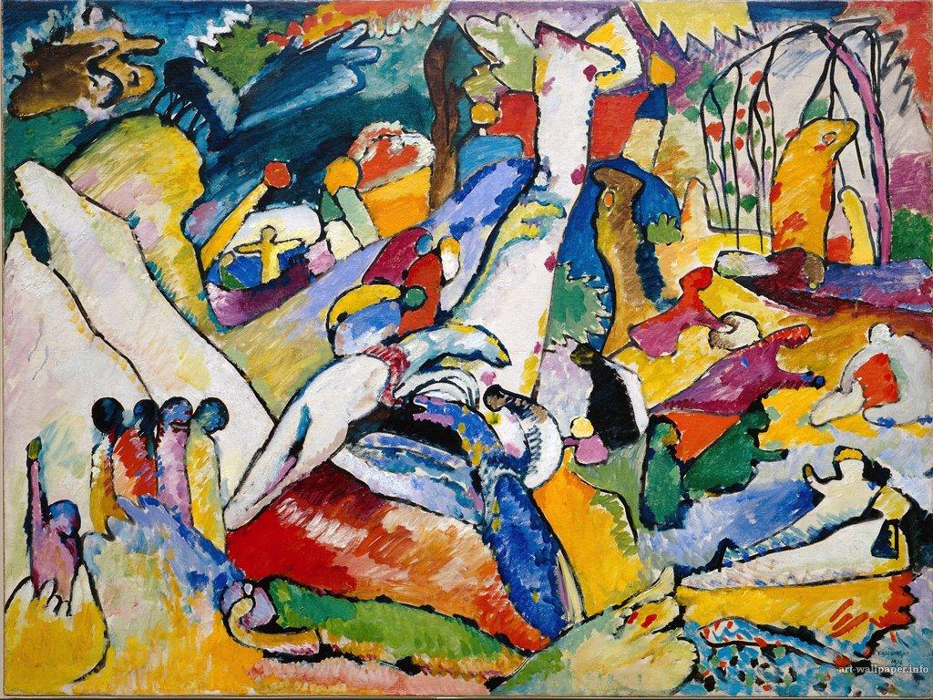 Artistic Wallpaper: Wassily Kandinsky