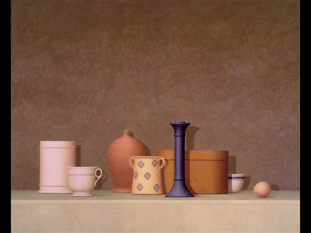 Artistic Wallpaper: William Bailey - Strada Bianca