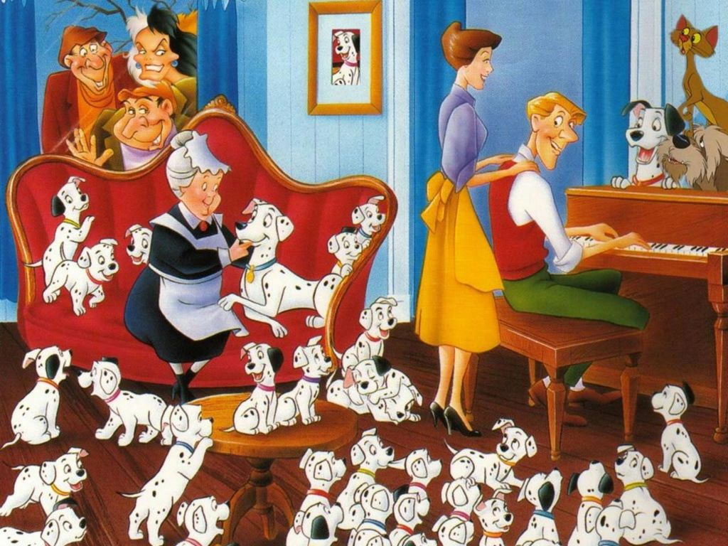Cartoons Wallpaper: 101 Dalmatians