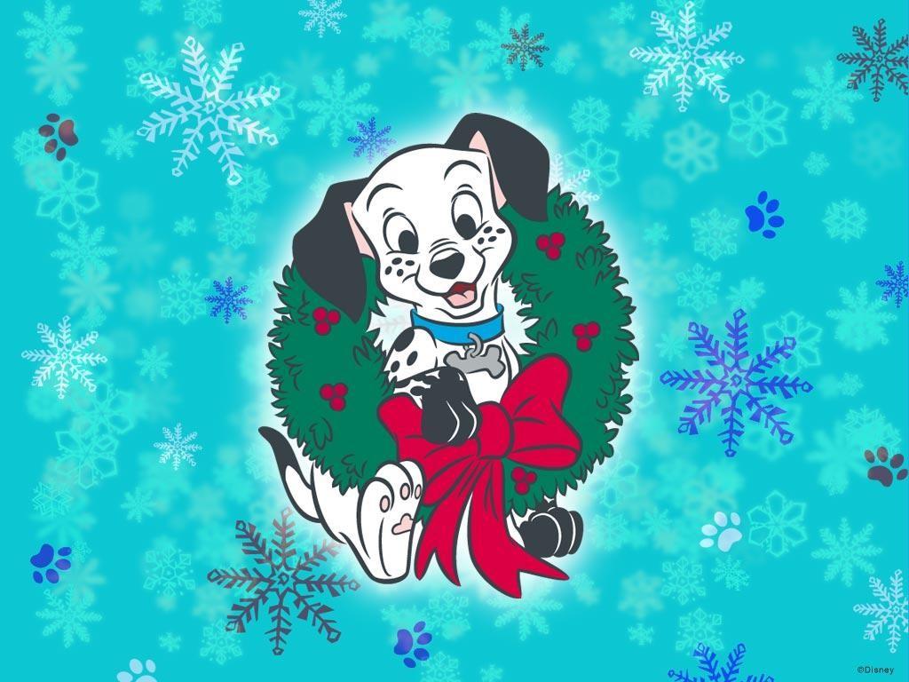 Cartoons Wallpaper: 102 Dalmathians - Christmas