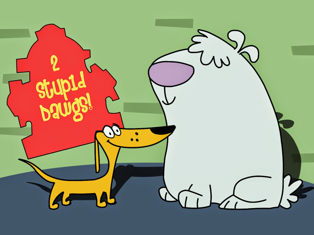 Cartoons Wallpaper: 2 Stupid Dogs