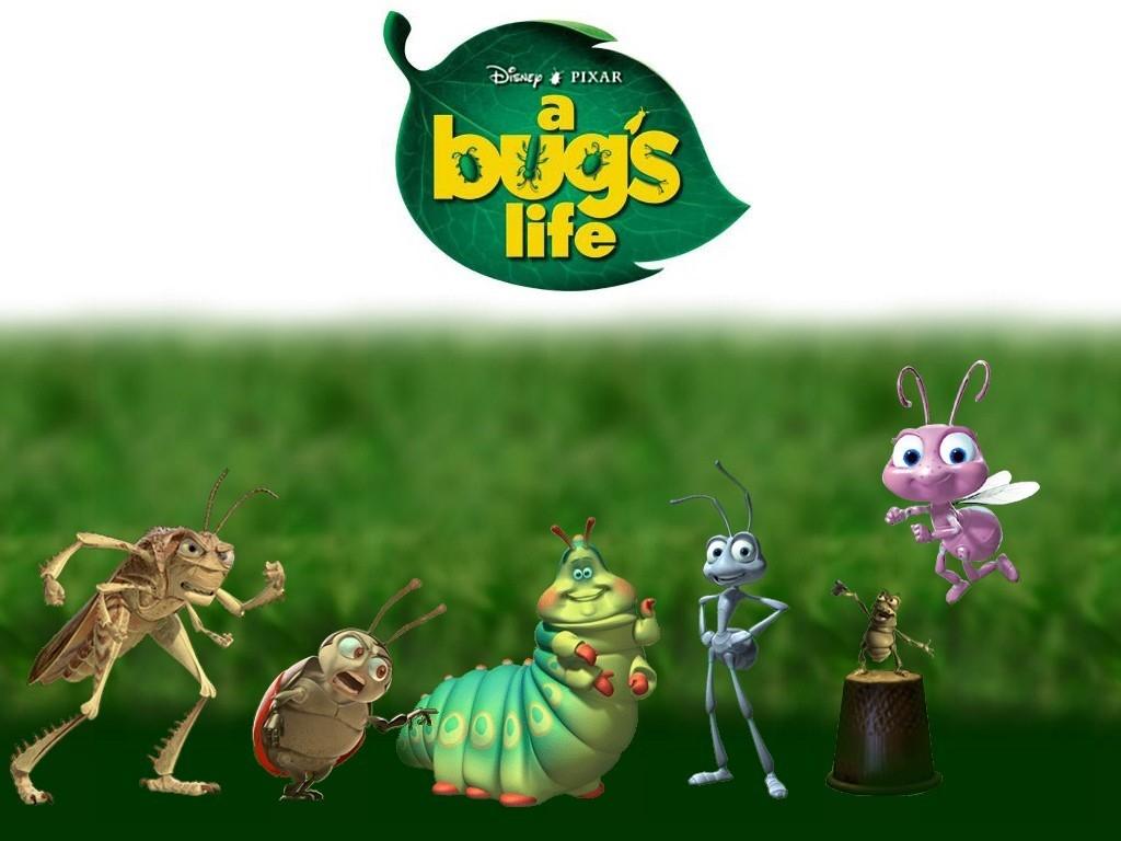 Cartoons Wallpaper: A Bug's Life