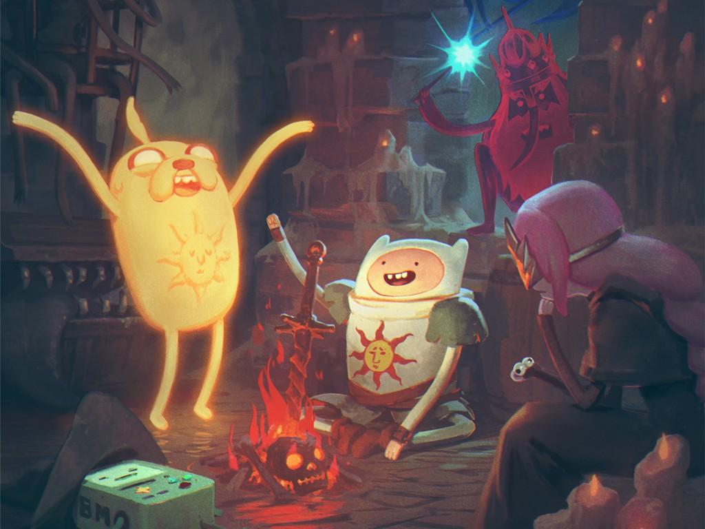 Cartoons Wallpaper: Adventure Souls