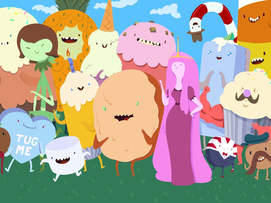 Cartoons Wallpaper: Adventure Time (Fan Art)