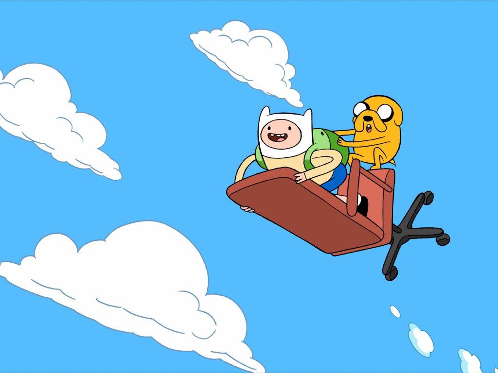 Cartoons Wallpaper: Adventure Time