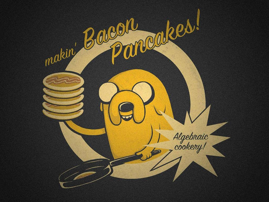 Cartoons Wallpaper: Adventure Time - Making Bacon Pancakes