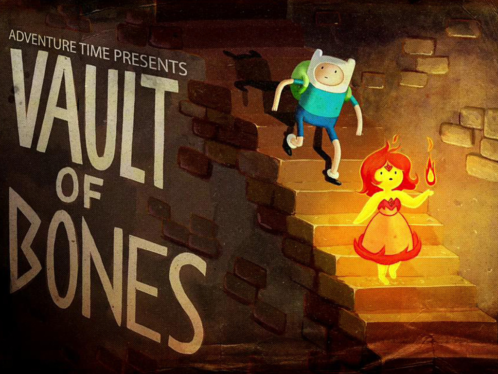 Cartoons Wallpaper: Adventure Time - Vault of Bones