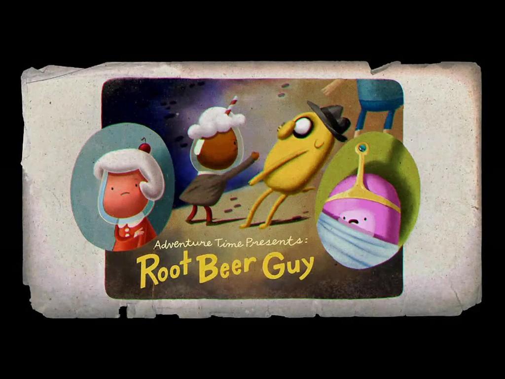 Cartoons Wallpaper: Adventure Time - Root Beer Guy